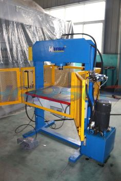 Dear : I am ivy for China. We are the manufacture. And this is our new type gantry hydraulic press machine. The machine type is 20T , and its has the electrical valve, and Photoelectric protection and fence. We according to the customer need to make it. And we will send it to South Africa. If you have the interest, please contact me. My mail :ivy@harsle.com  My skype :ivyzhang1991826  My whatsapp:+86-15251795483 (also my Wechat number) Our website :www.harsle.com