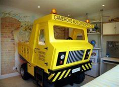 Kinderzimmer gestalten – 20 Kinderbetten für coole Jungs wie Autos geformt - kinderzimmer gestalten junge bett auto wagen lkw kidsroom car bed