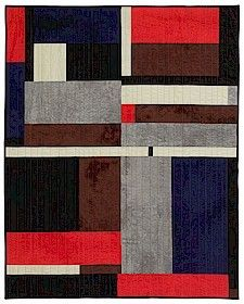 Gees Bend Quilt Kit Blocks Strips L Bennett Colchas Quilting, Machine Quilting, Quilting Projects, Quilting Designs, Wool Quilts, Cotton Quilts, Strip Quilts, Quilt Blocks, Textiles