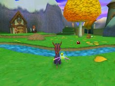 Spyro!! I'm fairly certain I owned every single playstation 1 Spyro game - though I didn't get some of them until I was a teenager.