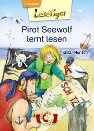 3. Lesestufe: Lesetiger - Pirat Seewolf lernt lesen: Lesen, so was Blödes! Davon bekommt man nur Kopfweh, findet Pirat Seewolf. Er ist auch so der Schrecken aller Meere! Doch eines Tages entdeckt Seewolf eine Schatzkarte mit komischen Zeichen – sind das etwa Buchstaben? Wie soll er den Schatz finden, wenn er nicht lesen kann?  Schnell entert der Pirat ein Schulschiff und stellt fest: Lesenlernen ist gar nicht so einfach!    Lesen lernen einmal andersrum: Hier sind die Kinder die Lehrer!