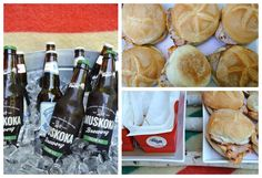 Chic Canadiana - Canada Day party Happy Birthday Canada, Canada Day Party, Canadian Bacon, Diy Party, Party Planning, Ale, Entertaining, Chic, Burgers