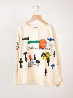 Chateau Buttons T-Shirt Bobo Choses