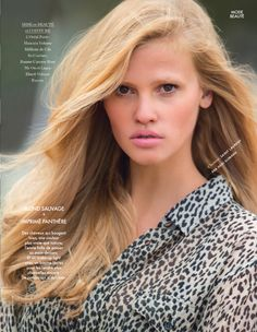 Dutch model Lara Stone posed for the photographer Hans Feurer in a 'sexy soft' fashion editorial in Elle France june 2014 Lara Stone, Beauty Photography, Fashion Photography, Pale Pink Lips, Musical Hair, Elle Magazine, Strawberry Blonde, Passion For Fashion, Editorial Fashion