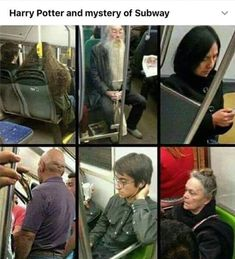 Hagrid, Dumbledore, Snape, Professor Quirel/Voldemort, Harry, McGonagall