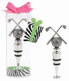 golf bottle topper. cute.