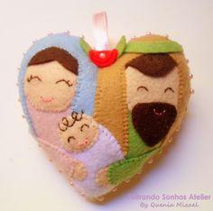 Coração Sagrada Família!!! <3