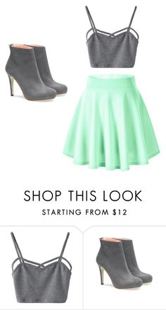 """""""Sin título #12"""" by andy-alesal on Polyvore featuring moda y WithChic"""