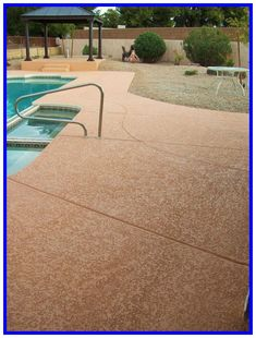 Acrylic Pool Deck Resurfacing - For putting a cut around your pool Pool decking is not just.