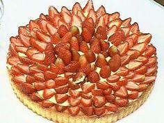 Tarta de frutillas con almíbar de naranjas| Dolli Irigoyen