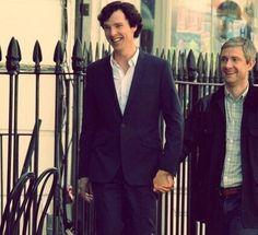 #Johnlock #SherlockHolmes #JohnWatson #BenedictCumberbatch #MartinFreeman