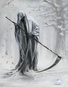 The White Death who is known as the white plague or hypothermia.