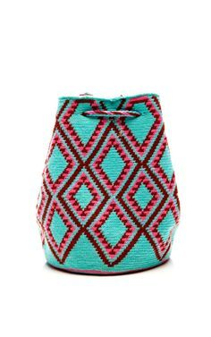 One-Of-A-Kind Handmade Wayu Mini Mochila by Muzungu Sisters - Moda Operandi