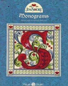 Monograms (Jim Shore) - Cross Stitch Pattern