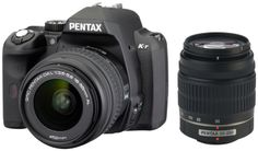 Pentax K-R 12.4 MP Digital SLR Camera with 3.0-Inch LCD and 18-55mm f/3.5-5.6 and 50-200mm f/4-5.6 Lenses (Black...