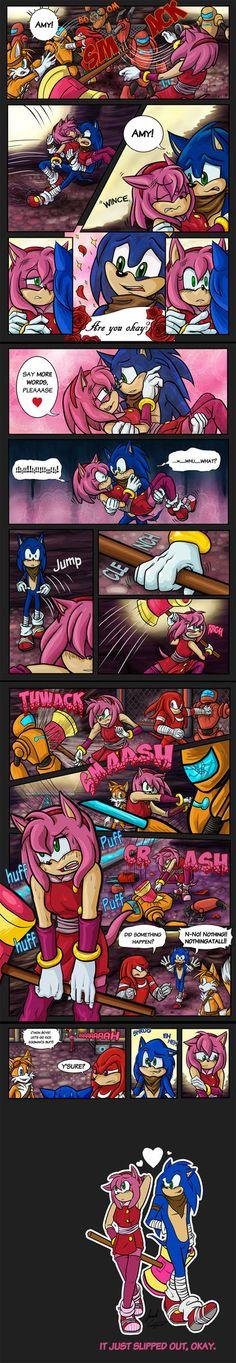 Sonic Boom : It Slipped by SallyVinter on DeviantArt