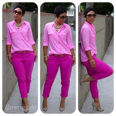 Pretty In Pink   How To Wear ONE Solid Color