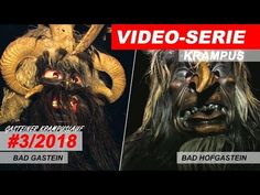 Austria - Krampus run in the Gastein valley / NEW Krampus Video Bad Gastein, Videos, News, Youtube, Movies, Movie Posters, Video Production, Films, Film Poster