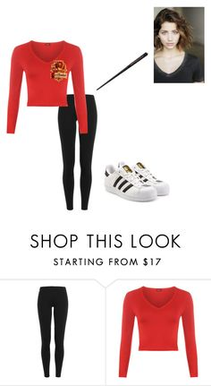 """Chapter 87: Annabelle Potter"" by kyanastyle ❤ liked on Polyvore featuring Polo Ralph Lauren, WearAll and adidas Originals"