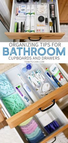 Ordinaire Organizing Bathroom Drawers And Cupboards