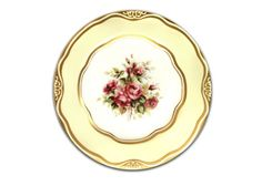 Mary Todd Lincoln China Dinner Plate Abraham Lincoln Library and Museum