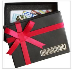 iSUBSCRiBE Premium Gift Card & Box