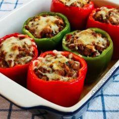 21 Day Fix Recipes – Stuffed Peppers