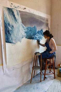 15 Unbelievable Zaria Forman Artworks