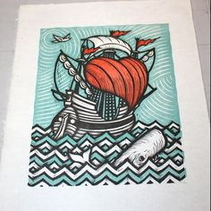 Peter Nevins — The Woodcut Process