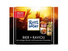 Ritter Sport Festival Edition mit Bier + Ravioli | Testspiel.de