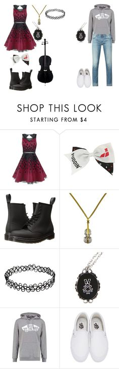 """""""cello concert"""" by dani-lehmiller on Polyvore featuring Dr. Martens, Vans and Armani Jeans"""