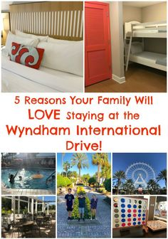 5 Reasons Your Family Will Love Staying at the Wyndham International Drive! The Official Hotel of I-Drive 360! #WyndhamIDrive