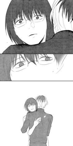 "Arima gençken çok tipsiz lo gfhjdfsgh ""I know what are you suffering.and I am here for you"" -Haise Tokyo Ghoul, Manga Art, Anime Manga, Saiko Yonebayashi, Watch Manga, Juuzou Suzuya, Anime Dolls, Anime Life, Depressing"