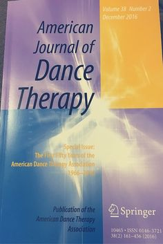 Read the American Dance Therapy Association peer reviewed Journal to find out more about #dancemovementtherapy