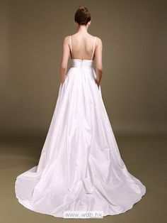 Sweetheart Wedding Dress with Beaded Bodice and Pockets $228.98