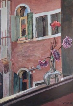 A Venetian Window  by Vanessa Bell    Date painted: 1926