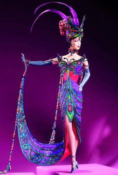 タンゴ バービー ボブ・マッキー Bob Mackie The Tango Barbie 23451 デザイナーズ Designers ボブ・マッキー Bob Mackie のバービー通販 激安の専門ショップ エクスカリバー