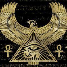 Egyptian Symbols, Ancient Symbols, Egyptian Art, Egyptian Mythology, Egyptian Goddess, Ancient Artifacts, Ancient Egypt Art, Ancient Aliens, Ancient Greece