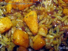 Dès que j'ai vu la recette de Potiron rôti aux 4 épices chez Pauline, j'ai eu envie de le tester avec mon actifry, j'en ai profité pour liquider un reste de riz cuit avec, c'était délicieux ... 400 g de chair de potimarron 1 càs d'huile de marinade de... Quinoa, Risotto, Pork, Gluten, Cooking, Sweet, Ethnic Recipes, Table, Air Fryer Recipes