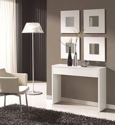 Resultado de imagen para muebles recibidor moderno + almacenaje