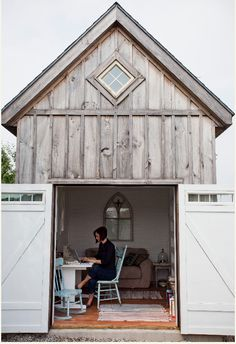 ann voskamp's writing space from   http://www.aholyexperience.com/