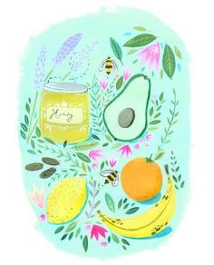 caboodle magazine - Mia Dunton Illustration
