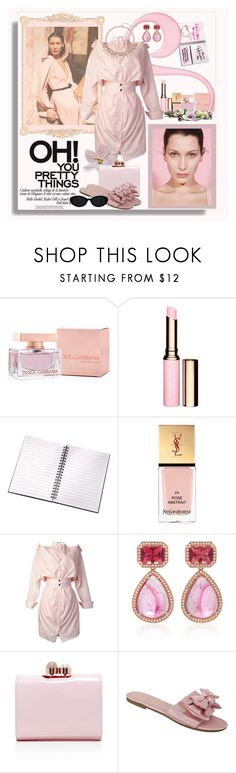 """""""Don't wake me up"""" by ann-kelley14 ❤ liked on Polyvore featuring Dolce&Gabbana, Yves Saint Laurent, By Terry, storets, Dana Rebecca Designs, Ted Baker, Dolly Mix and Simply Vera"""