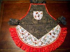 Twelve Days of Christmas Apron by whimseycottage on Etsy, $25.00
