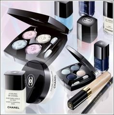 Chanel - Spring 2008 - Aurora Blues Accent Spring Collection