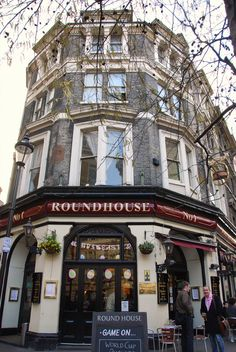 New Row - The Round House exterior - London