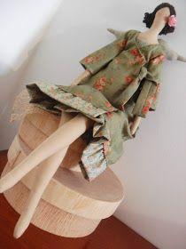 Orquídea de Feltro: Dottie,Landsted,Atelier.