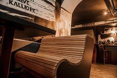 Clubdesign Bang Bang Club Graz Bang Bang, Outdoor Furniture, Outdoor Decor, Sun Lounger, Club, Chair, Interior, Home Decor, Graz