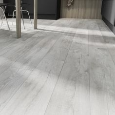 Try our white wash oak vinyl flooring if you are looking for a stylish, easy to . - Try our white wash oak vinyl flooring if you are looking for a stylish, easy to install flooring in - White Wash Wood Floors, White Vinyl Flooring, Grey Wooden Floor, White Washed Oak, Vinyl Flooring Kitchen, Luxury Vinyl Flooring, Grey Flooring, Bedroom Flooring, Wooden Flooring