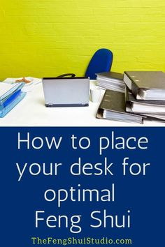 Feng Shui offers very specific guidance on how to place your desk in the most powerful position for optimal support and energy flow. #fengshui #fengshuidesk #fengshuioffice #homeofficefengshui #fengshuitips #howtofengshui #fengshuihowto #fengshuidiy #fengshuihome #fengshuilifestyle #fengshuipowerposition #fengshuibasics Feng Shui Desk, Feng Shui Studio, Feng Shui Office, Feng Shui Bedroom, Feng Shui Basics, Feng Shui Principles, Feng Shui Tips, Feng Shui Health, Feng Shui Energy